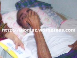 Om Piece terbaring karena Penyakit Stroke