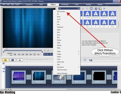 Tutorial Sederhana Editing Video menggunakan Ulead Video Studio 11 ...