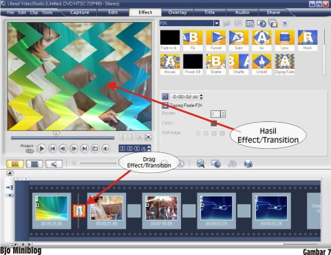 Tutorial Sederhana Editing Video menggunakan Ulead Video ...