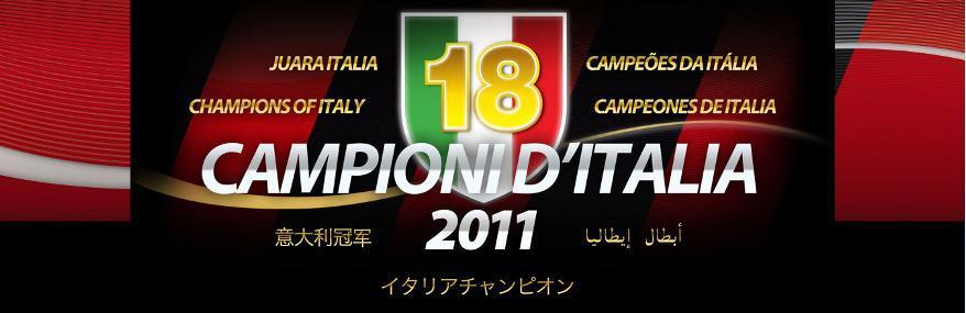 Forza Milan…!!!, Scudetto Serie-A 2010/2011 – Bjo Miniblog